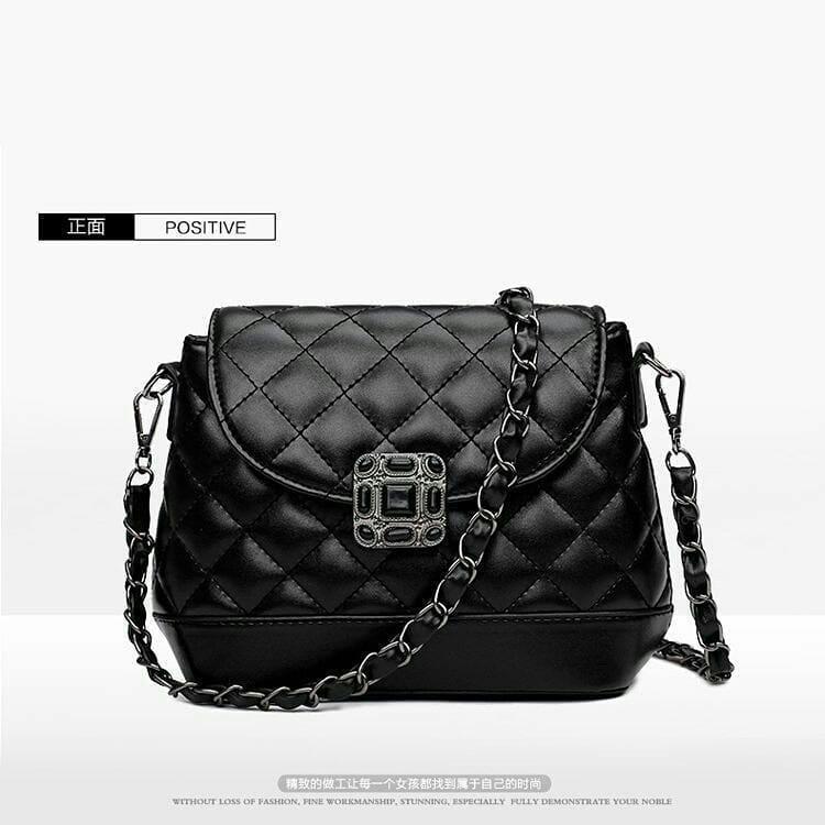 Detail Produk tas selempang wanita rantai - black ac83cd7375