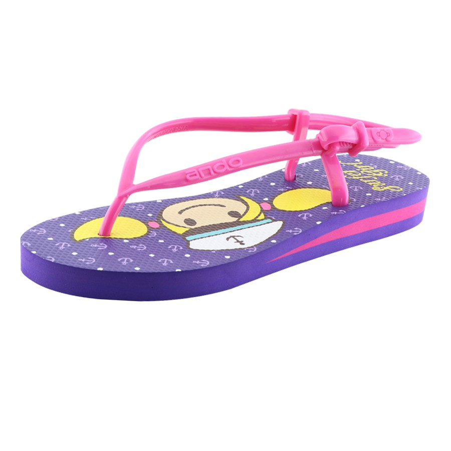 50cf4afd1b10 Detail Produk Sandal Surfer Girl Flip Flop Limited Edition SGL Sporty Ungu  Fusia