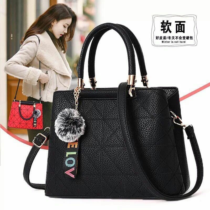 Detail Produk tas wanita   Tas Fashion Import 8897 - black bb3aee8873