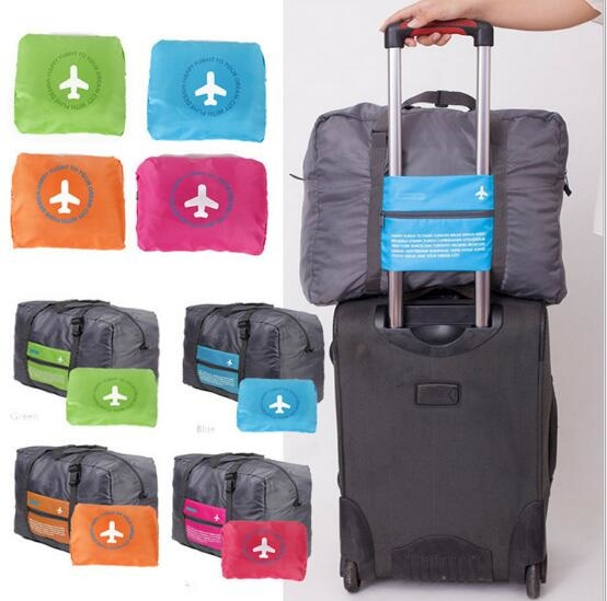 Foldable Travel Bag Korea Tas Lipat Koper Hand Carry Luggage Organizer