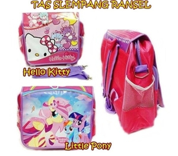 Detail Produk Tas Slempang Ransel Hello KItty   Little Pony 6b1647743a